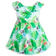 Minnie Mouse Tropical Dress for Baby