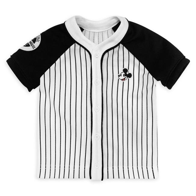 Mickey Mouse Baseball Shirt for Baby