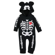 Mickey Mouse Skeleton Romper for Baby