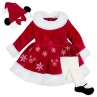 Mrs. Santa Minnie Mouse Costume for Baby