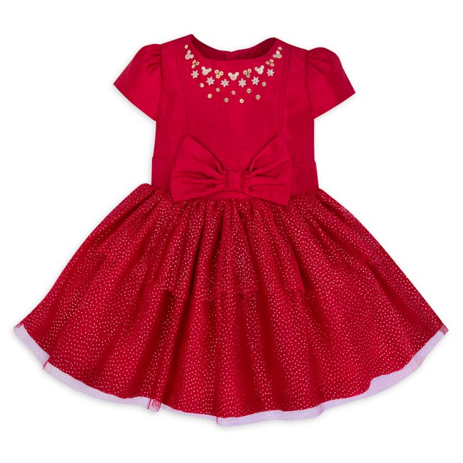Mickey Mouse Holiday Dress for Baby