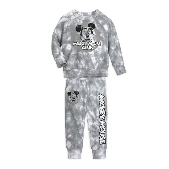 Mickey Mouse Tie-Dye Sweatshirt and Pants Set for Baby