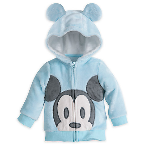 Mickey Mouse Layette Fleece Hoodie for Baby