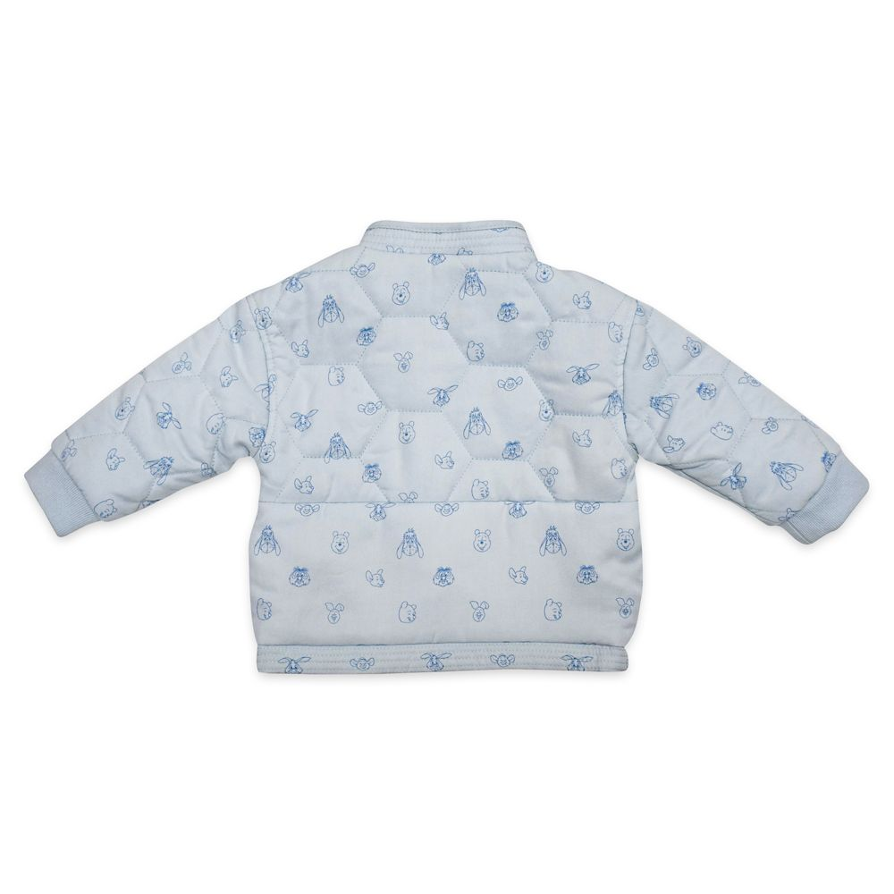 Winnie the Pooh Reversible Quilted Jacket for Baby