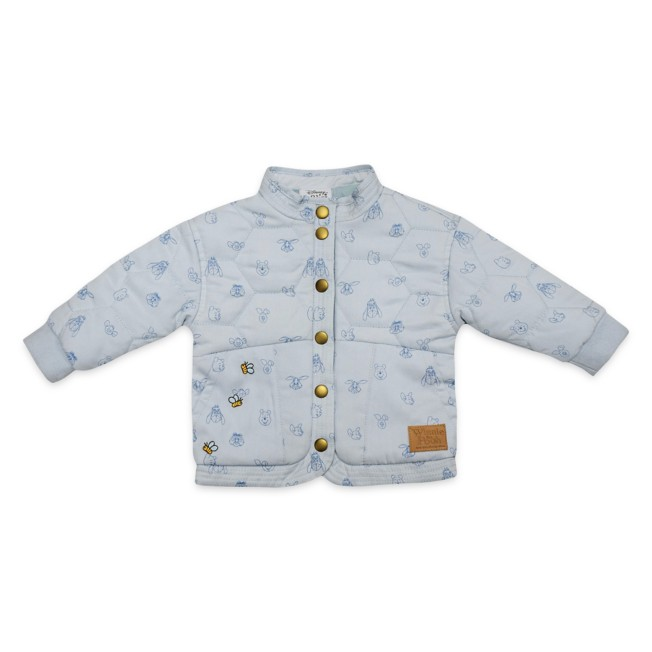 Winnie the Pooh Quilted Jacket for Baby
