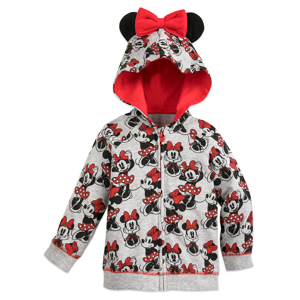 Minnie Mouse Hoodie for Baby