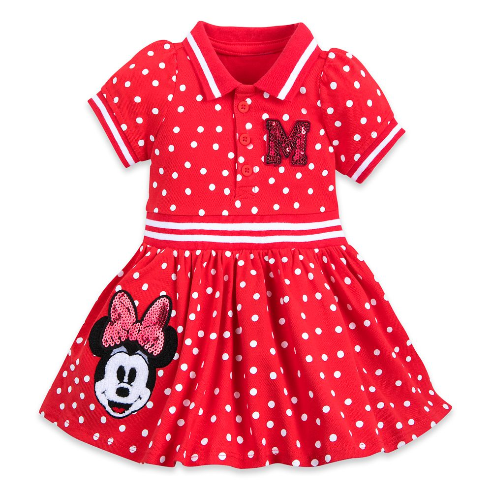 Minnie Mouse Red Polka Dot Dress for Baby Official shopDisney