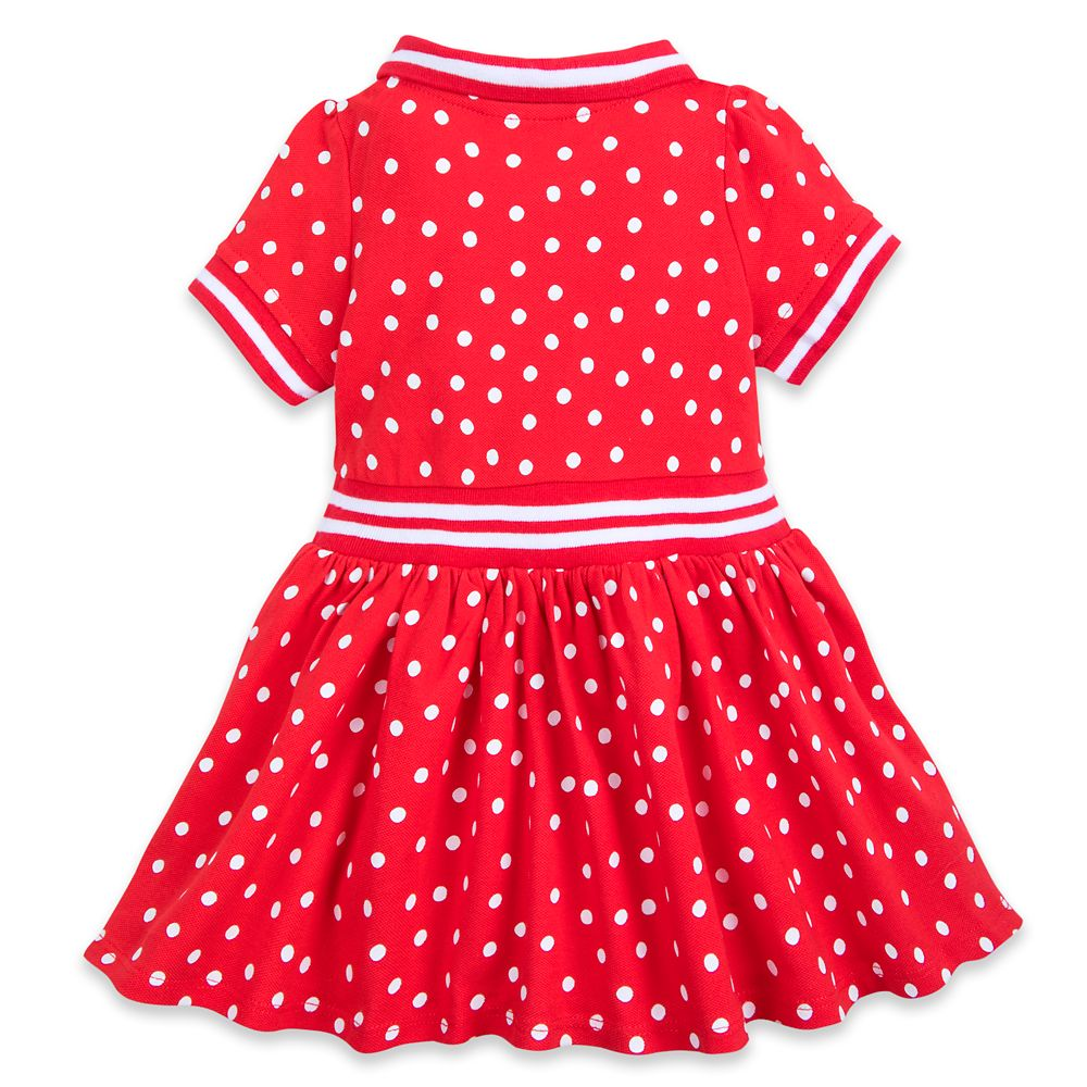 Minnie Mouse Red Polka Dot Dress for Baby