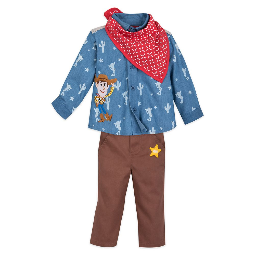 Woody Shirt and Pants Set for Baby