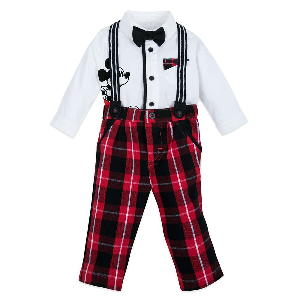 Mickey Mouse Fancy Holiday Set for Baby