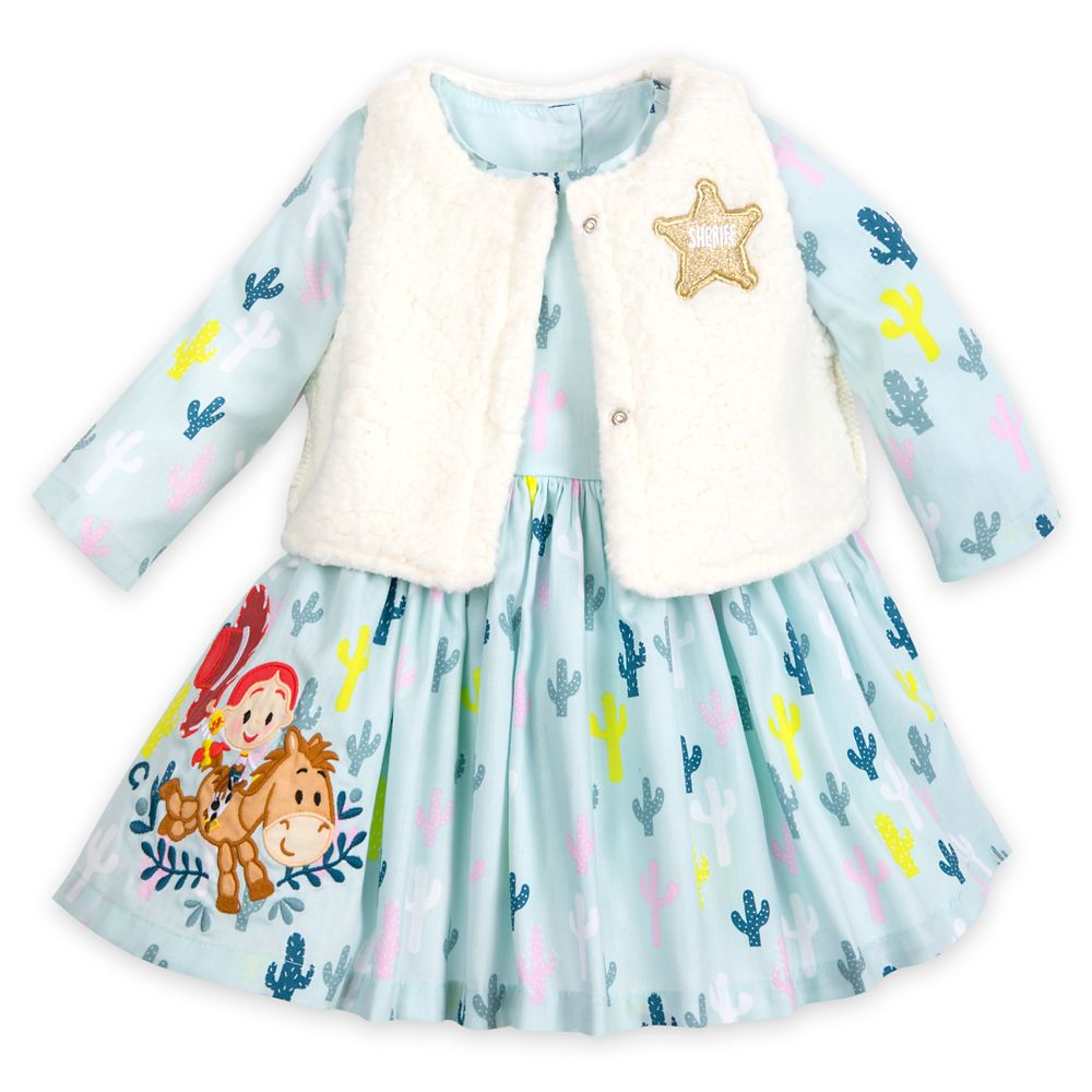 Jessie Dress and Vest Set for Baby – Toy Story
