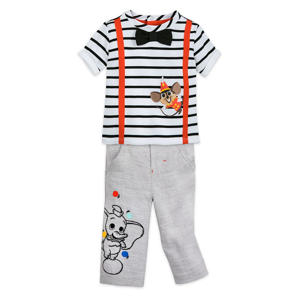 Dumbo T-Shirt and Pants Set for Baby