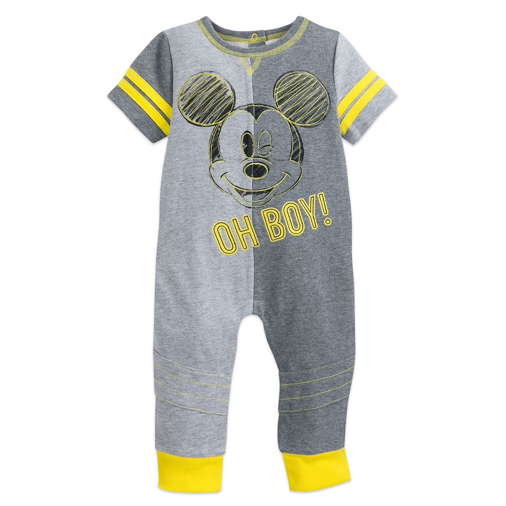 Mickey Mouse ''Oh Boy!'' Romper for Baby