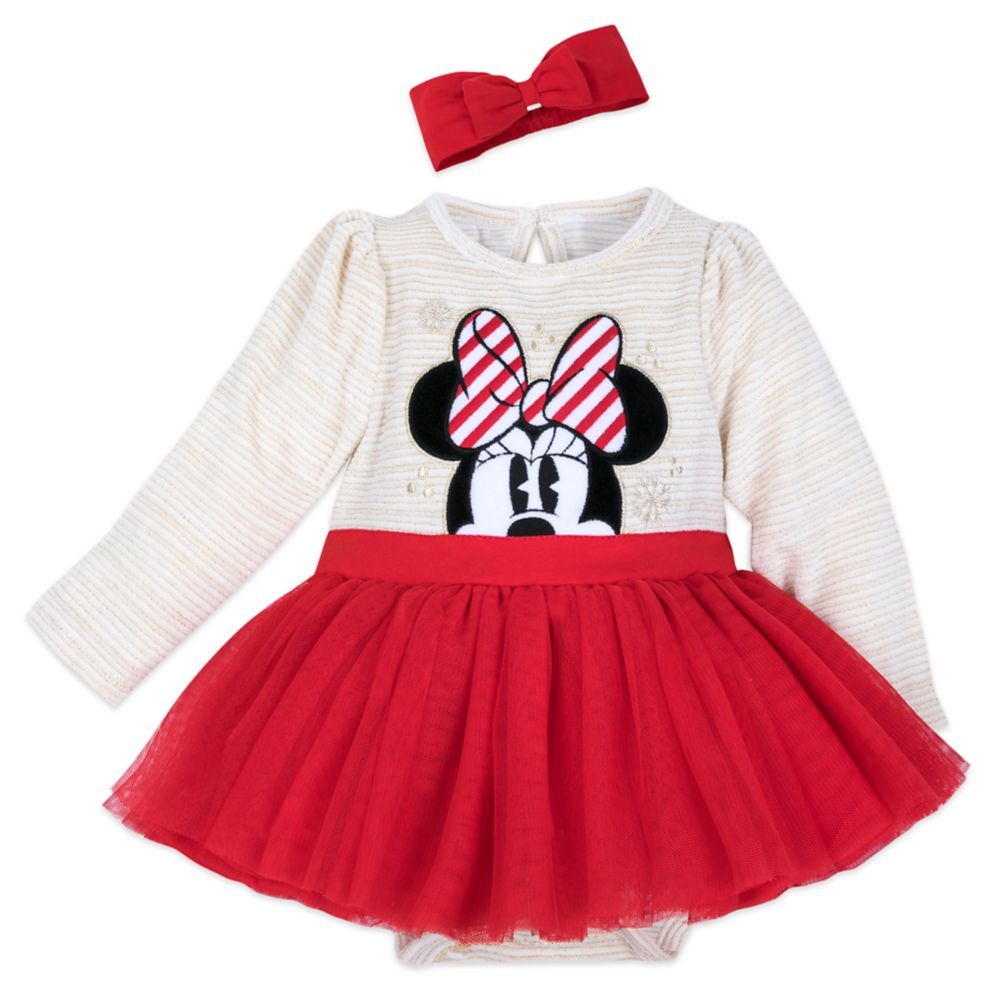 Minnie Mouse Tutu Dress and Headband Set for Baby