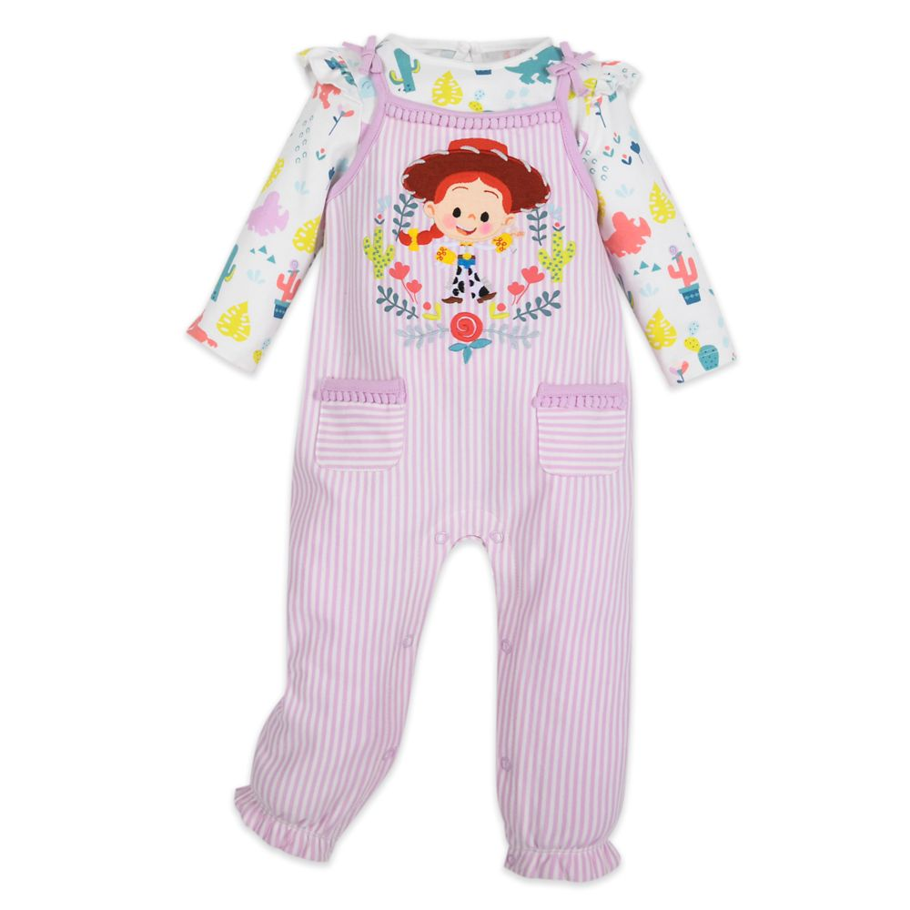 Jessie Dungaree and Bodysuit Set for Baby – Toy Story