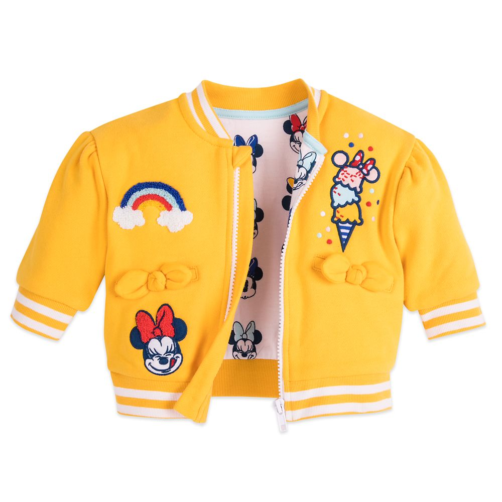Minnie Mouse Varsity Jacket for Baby