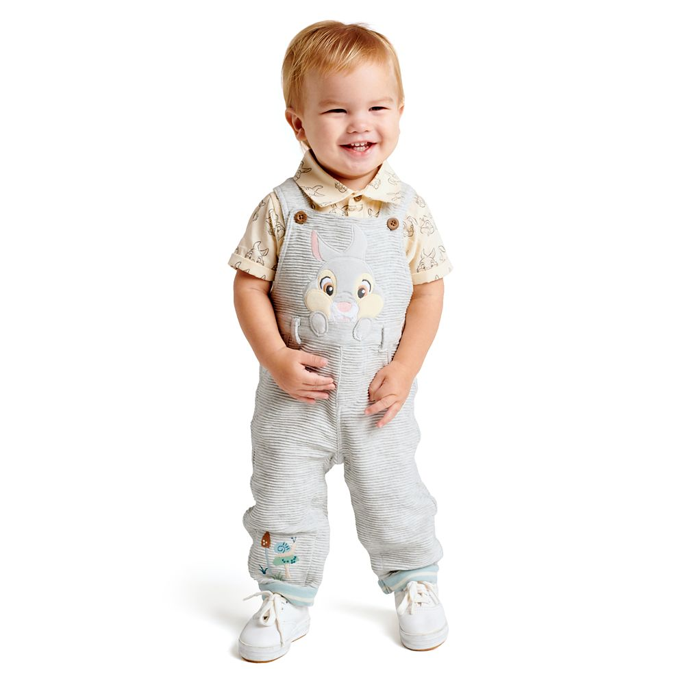 Thumper Dungaree and Shirt Set for Baby