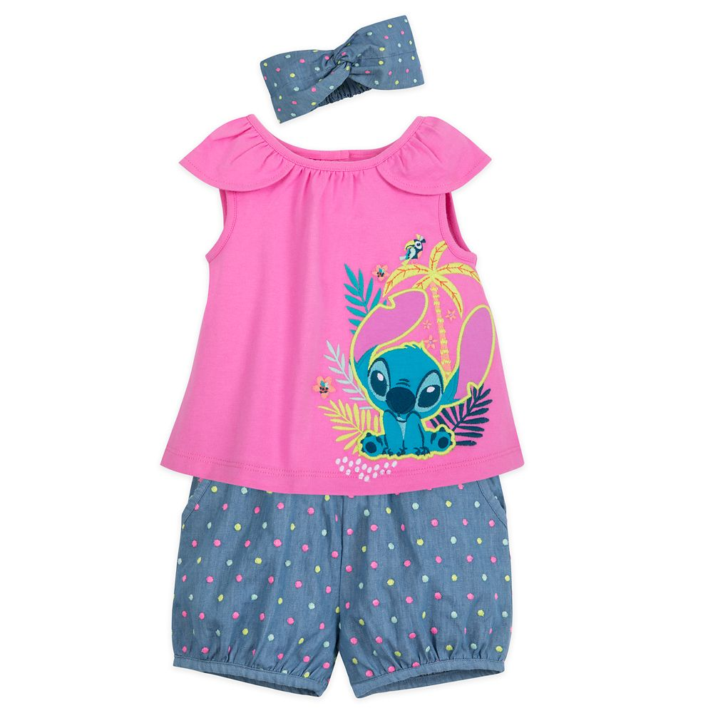 Stitch Top and Shorts Set for Baby