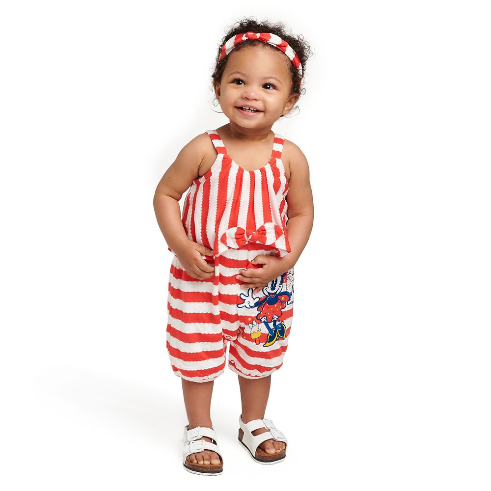 Minnie Mouse Romper for Baby