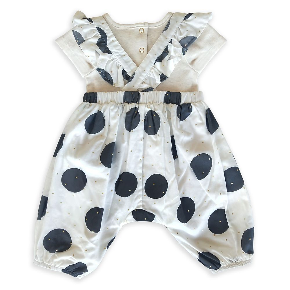 Minnie Mouse Bubble Romper and Bodysuit Set for Baby