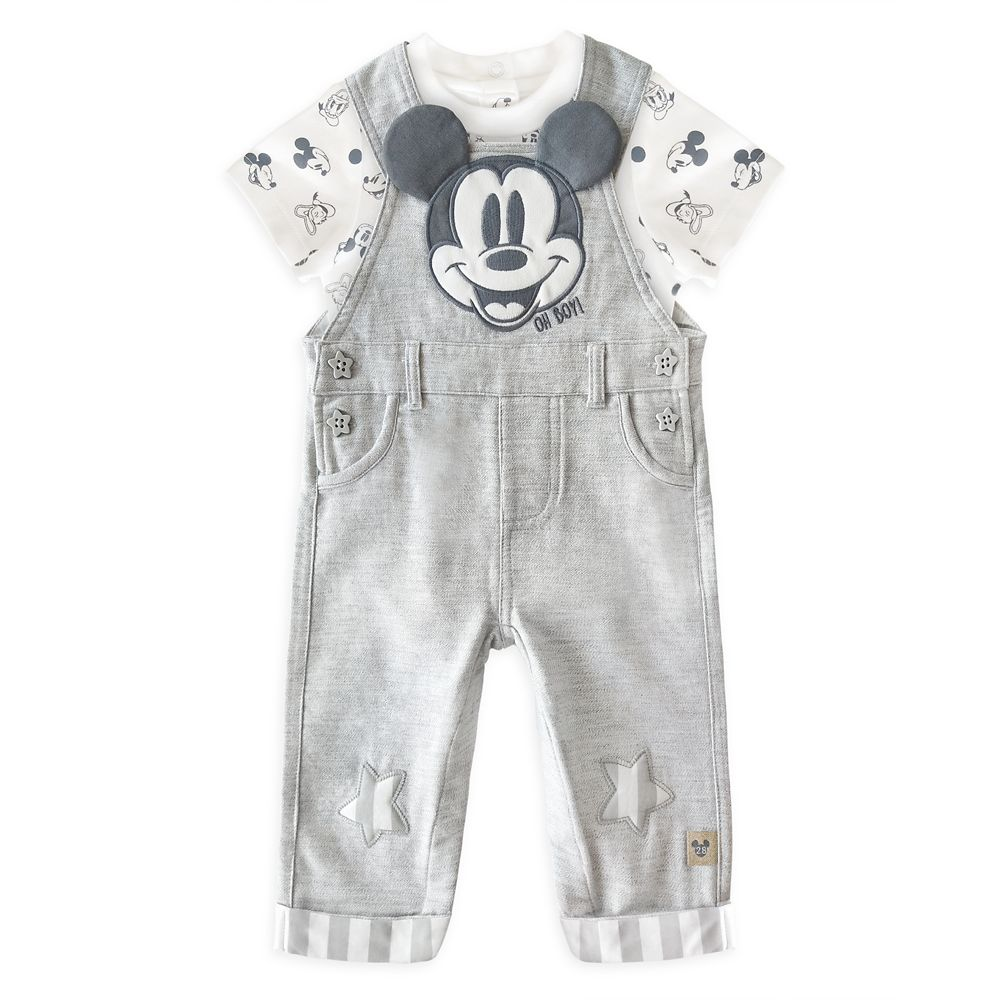 Mickey Mouse Dungaree Set for Baby