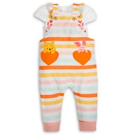 Winnie the Pooh and Piglet Romper Set for Baby