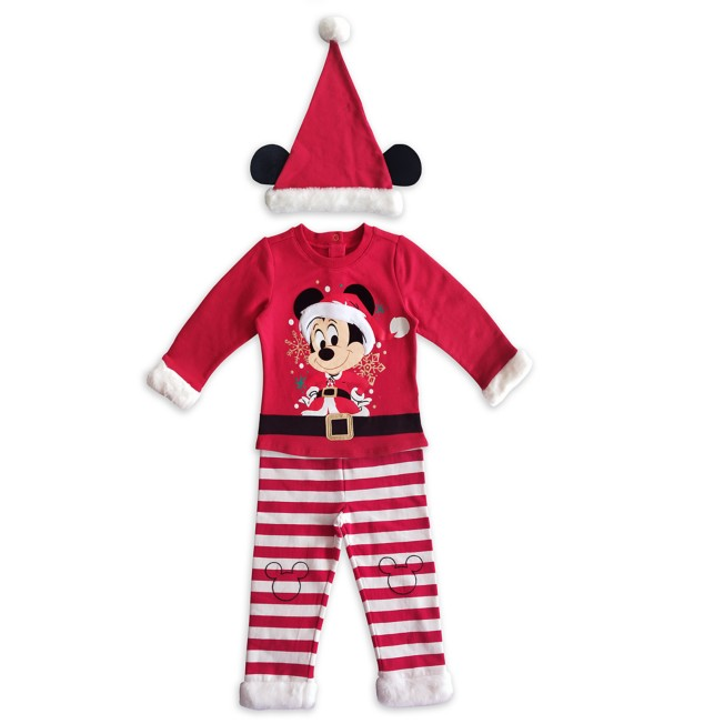 Santa Mickey Mouse Set for Baby