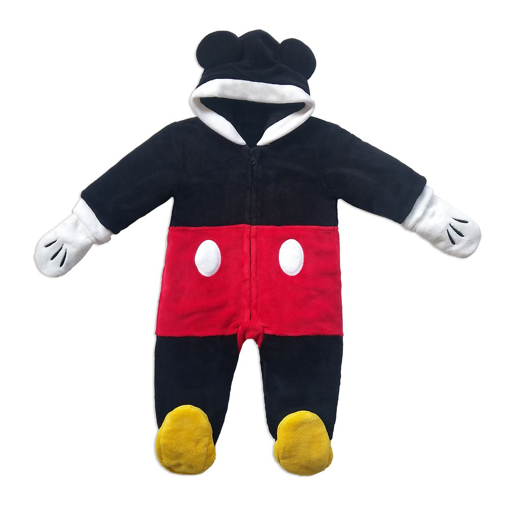 Mickey Mouse Snuggle Suit for Baby