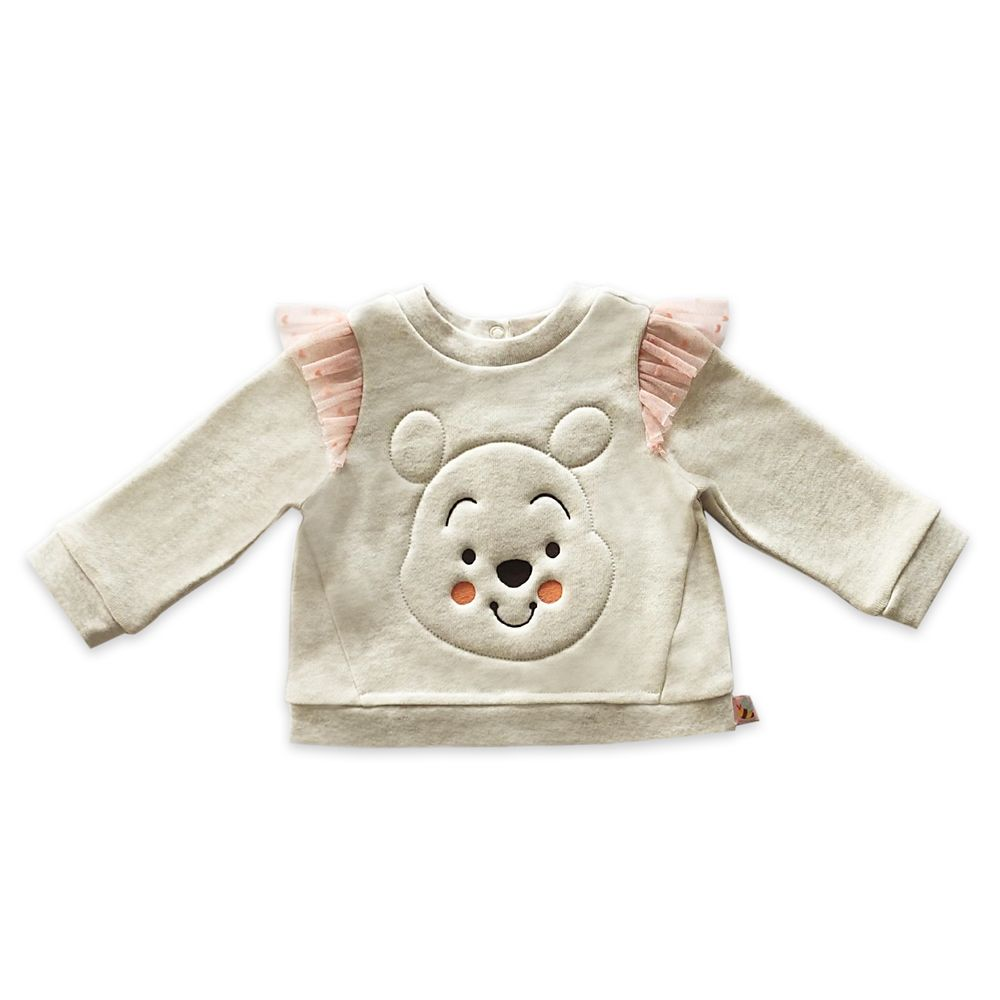Winnie the Pooh Top and Tutu Legging Set for Baby