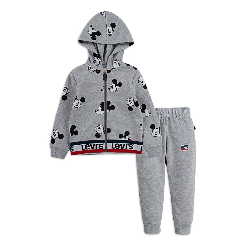 Mickey Mouse Zip Hoodie and Pants Set for Baby by Levi's