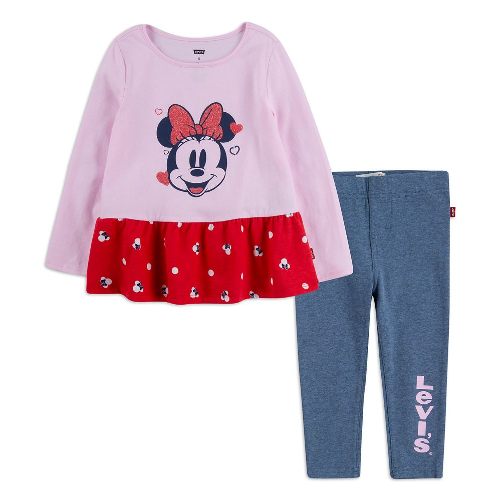 Minnie Mouse Top and Pants Set for Baby by Levi's