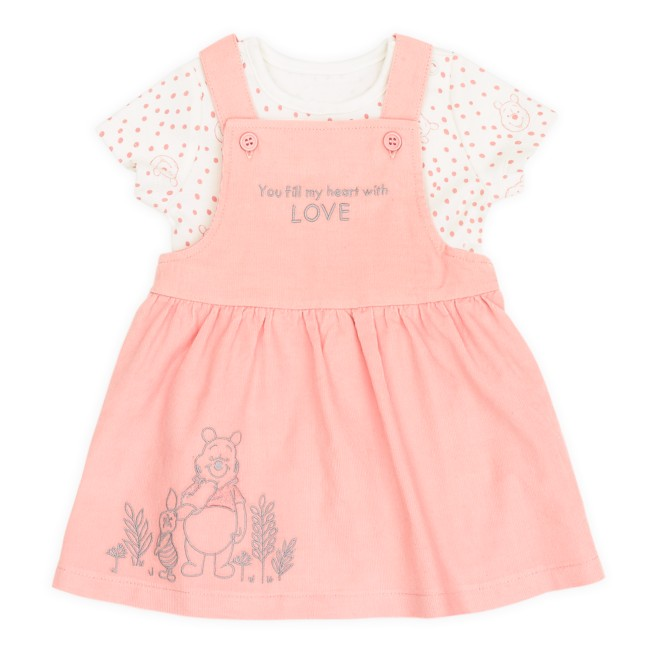Winnie the Pooh Jumper Dress Set for Baby