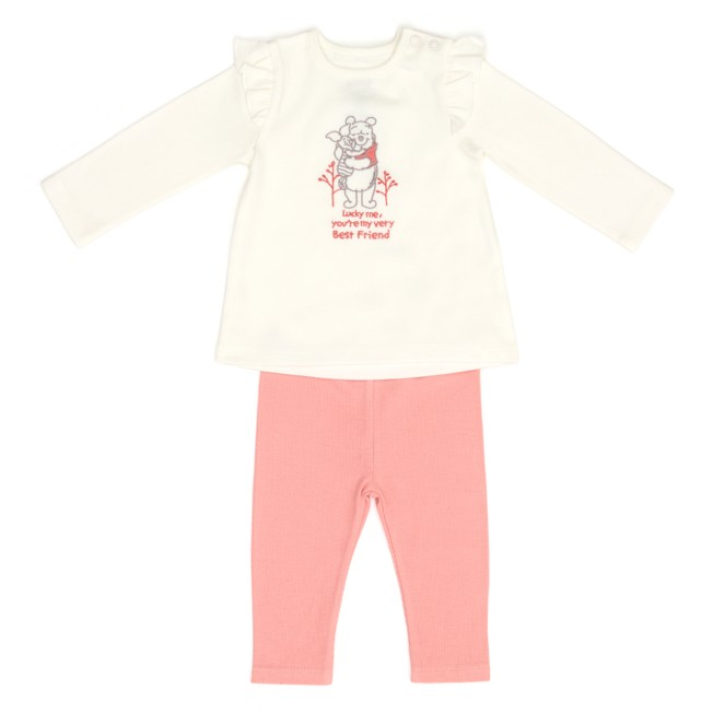 Winnie the Pooh and Piglet Top and Leggings Set for Baby