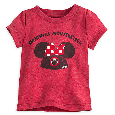 Minnie Mouse Mouseketeer Tee for Baby