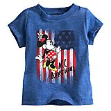 Minnie Mouse Americana Tee for Baby