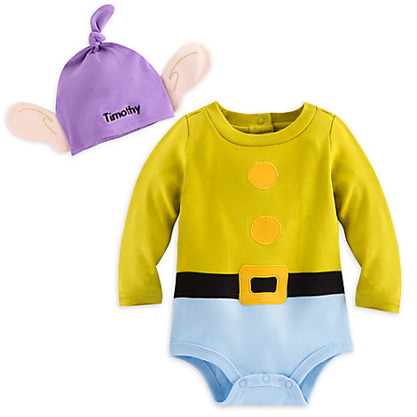 Dopey Costume Bodysuit Set for Baby - Personalizable
