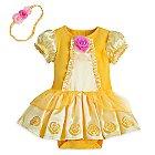 Belle Bodysuit Costume for Baby
