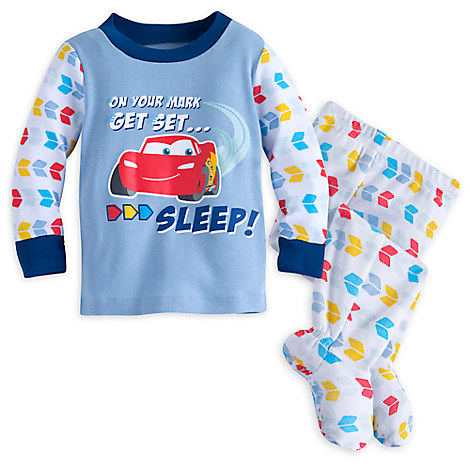 Lightning McQueen Footed PJ PALS for Baby