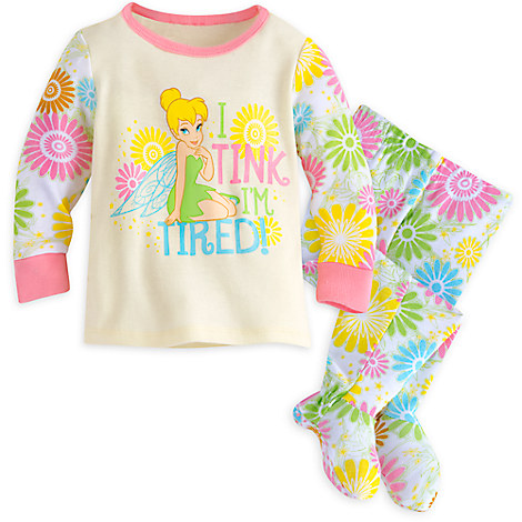 Tinker Bell Footed PJ PALS for Baby
