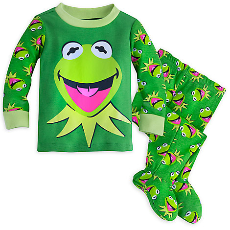 Kermit Footed PJ PALS for Baby