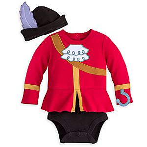 Captain Hook Costume Bodysuit for Baby - Personalizable