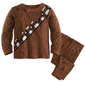 Chewbacca Costume PJ PALS for Baby  -  Star Wars