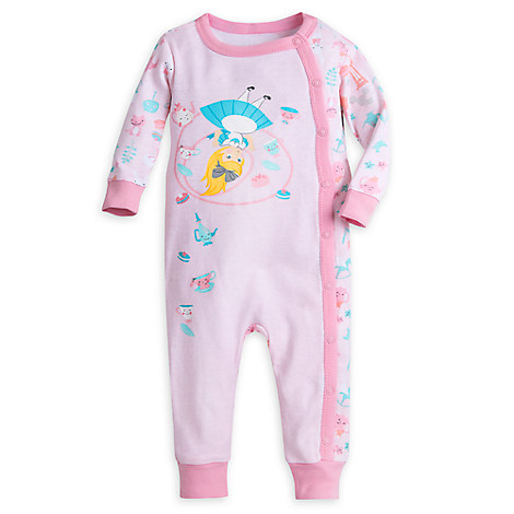 Alice in Wonderland Coverall for Baby
