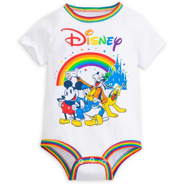 Mickey Mouse and Friends Bodysuit for Baby – Rainbow Disney Collection