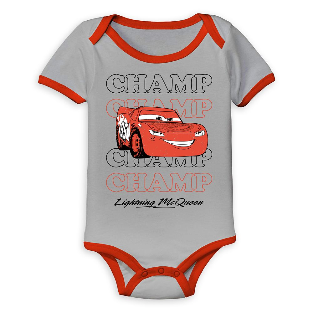 Lightning McQueen Bodysuit for Baby – Cars