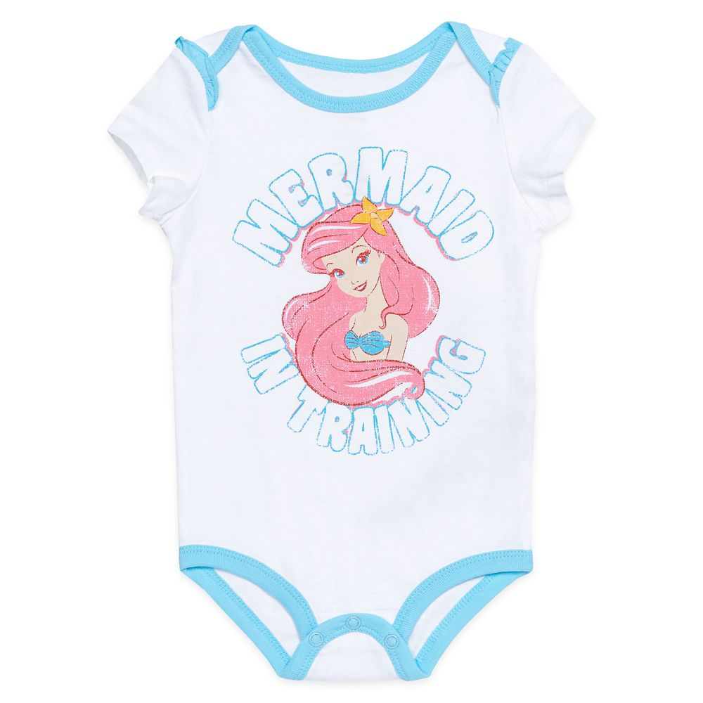 Ariel Bodysuit for Baby – The Little Mermaid