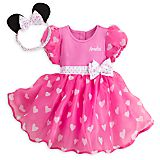 Minnie Mouse Costume Bodysuit for Baby - Pink - Personalizable