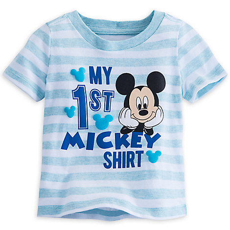 Mickey Mouse ''My First'' Tee for Baby