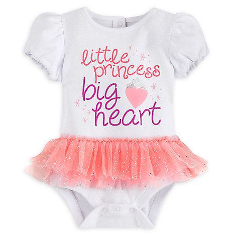 Princess Disney Cuddly Bodysuit with Tutu for Baby