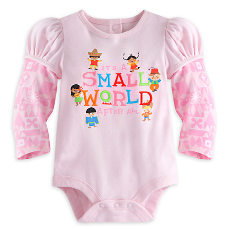 ''it's a small world'' Disney Cuddly Bodysuit for Baby